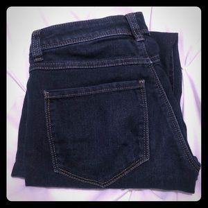 LC Lauren Conrad Skinny Mid Rise Jeans.  Size 2